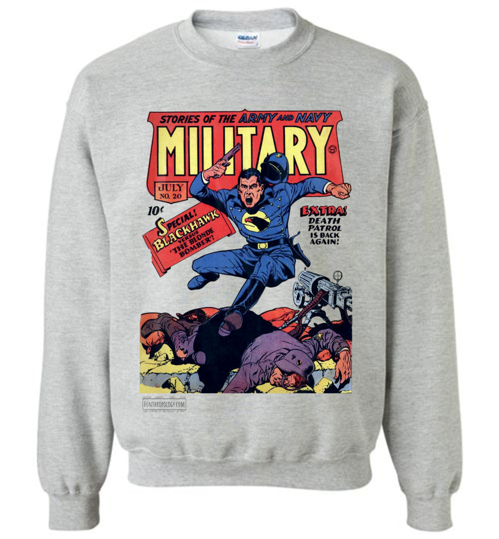 Military Comics No.20 Sweatshirt (Youth, Light Colors)
