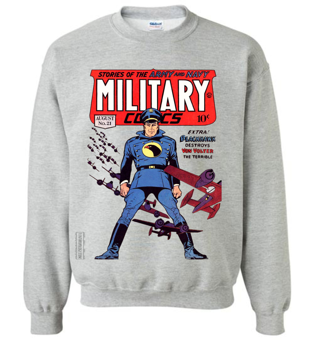 Military Comics No.24 Sweatshirt (Youth, Light Colors)