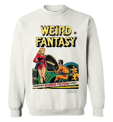 Weird Fantasy No.7 Sweatshirt (Unisex, Light Colors)