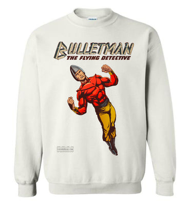 Bulletman Reimagined Sweatshirt (Unisex Plus, Light Colors)