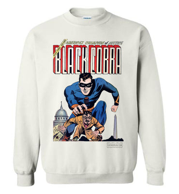Black Cobra No.1 Sweatshirt (Youth, Light Colors)