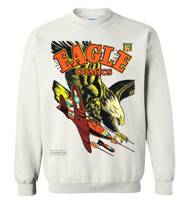 Eagle Comics No.1 Sweatshirt (Unisex Plus, Light Colors)