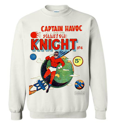 The Phantom Knight No.4 Sweatshirt (Unisex, Light Colors)