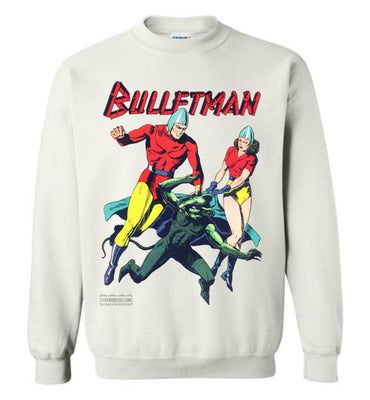 Bulletman No.7 Sweatshirt (Youth, Light Colors)