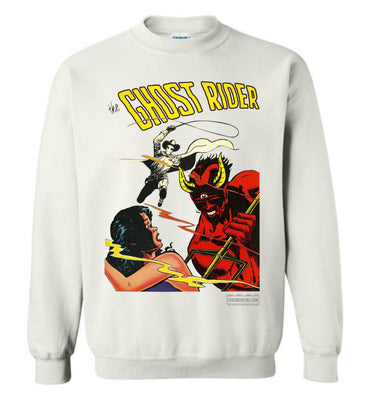 The Ghost Rider No.12 Sweatshirt (Unisex, Light Colors)