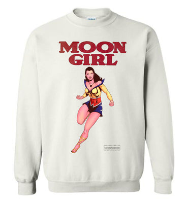 Moon Girl Reimagined Sweatshirt (Unisex Plus, Light Colors)