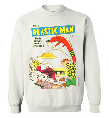 Plastic Man No.16 Sweatshirt (Unisex, Light Colors)