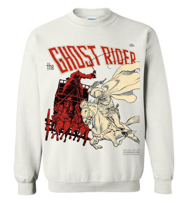 The Ghost Rider No.2 Sweatshirt (Unisex, Light Colors)