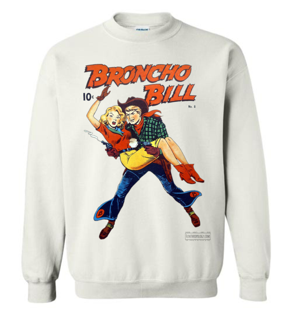 Broncho Bill No.8 Sweatshirt (Unisex, Light Colors)