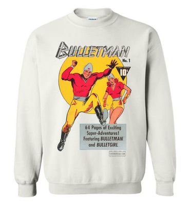 Bulletman No.1 Sweatshirt (Youth, Light Colors)