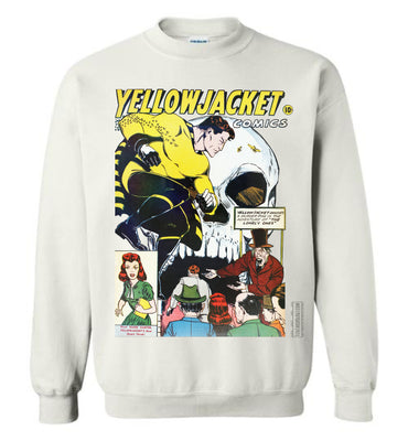 Yellowjacket No.7 Sweatshirt (Unisex, Light Colors)
