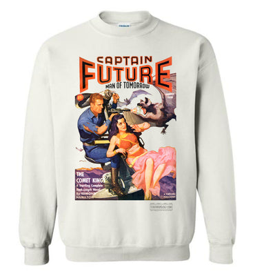Captain Future No.11 Sweatshirt (Unisex Plus, Light Colors)