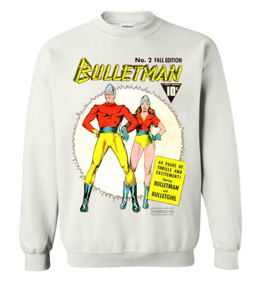 Bulletman No.2 Sweatshirt (Youth, Light Colors)