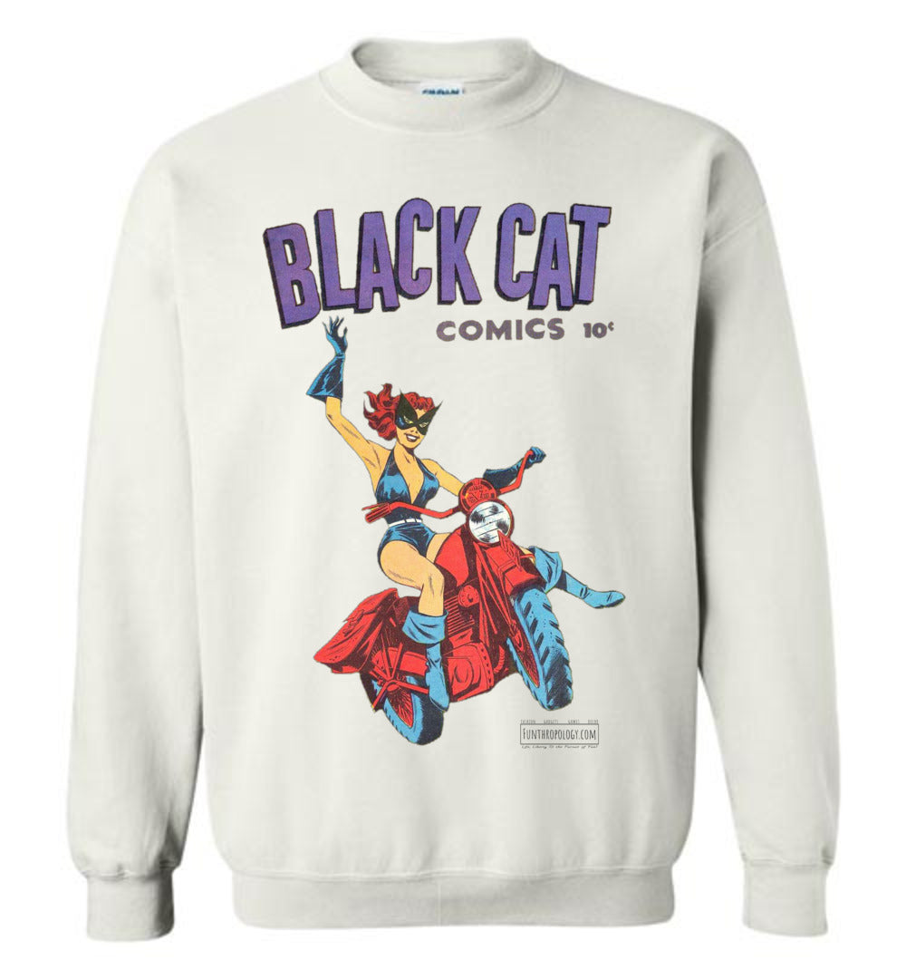 Black Cat No.1 Sweatshirt (Youth, Light Colors)