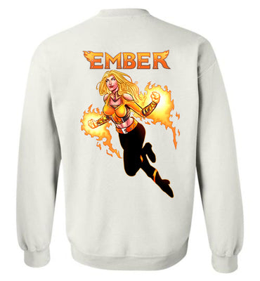 Capes & Chaos Ember Sweatshirt (Unisex)