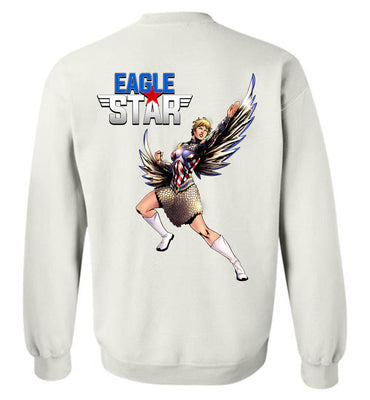 Capes & Chaos Eagle Star Sweatshirt (Unisex)