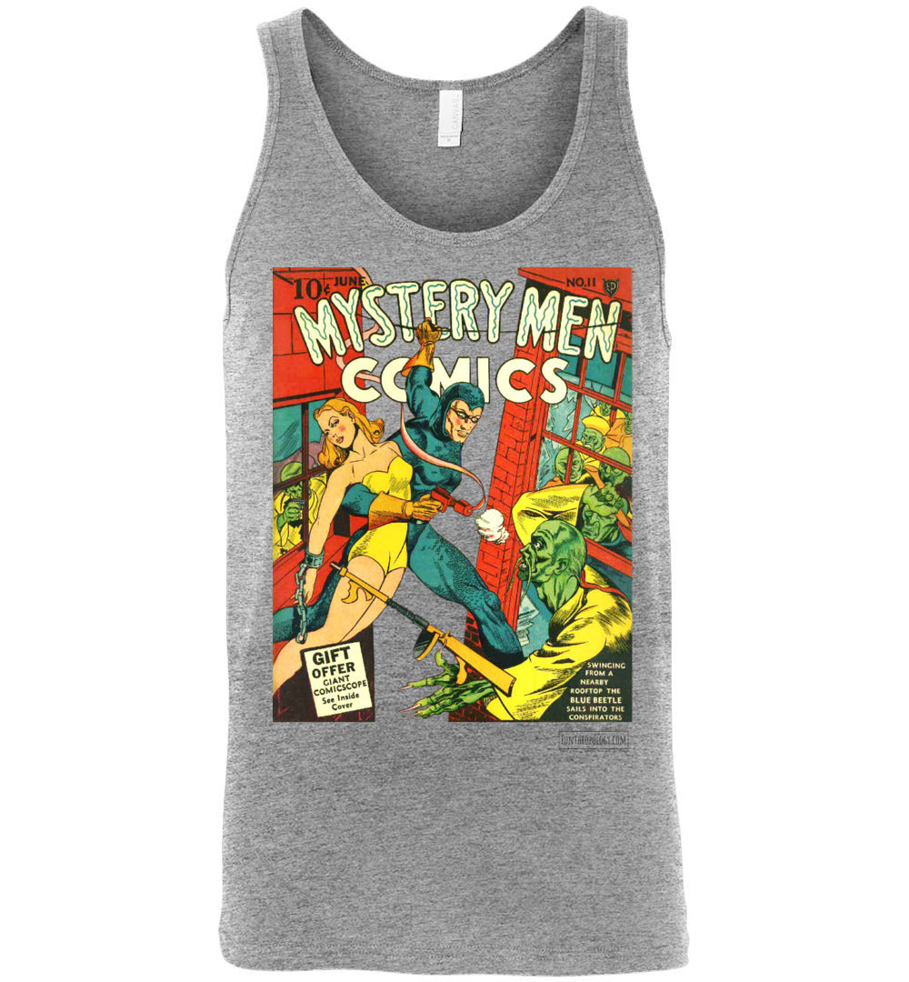 Mystery Men Comics No.11 Tank Top (Unisex, Light Colors)