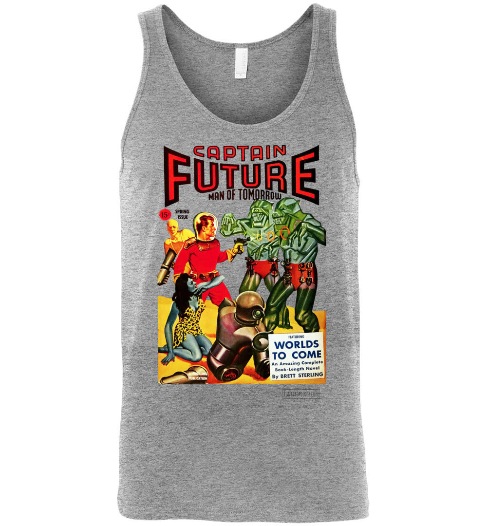 Captain Future No.14 Tank Top (Unisex, Light Colors)