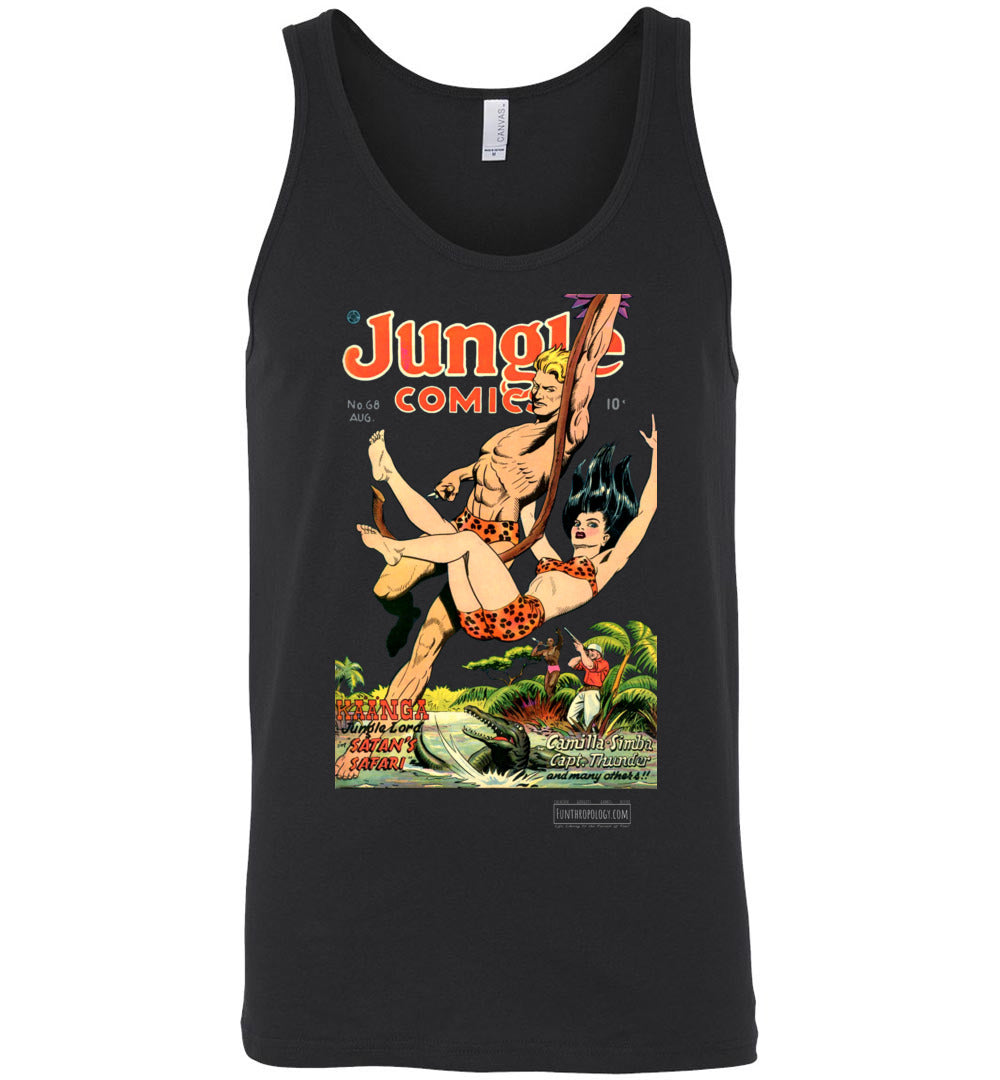 Jungle Comics No.68 Tank Top (Unisex, Dark Colors)