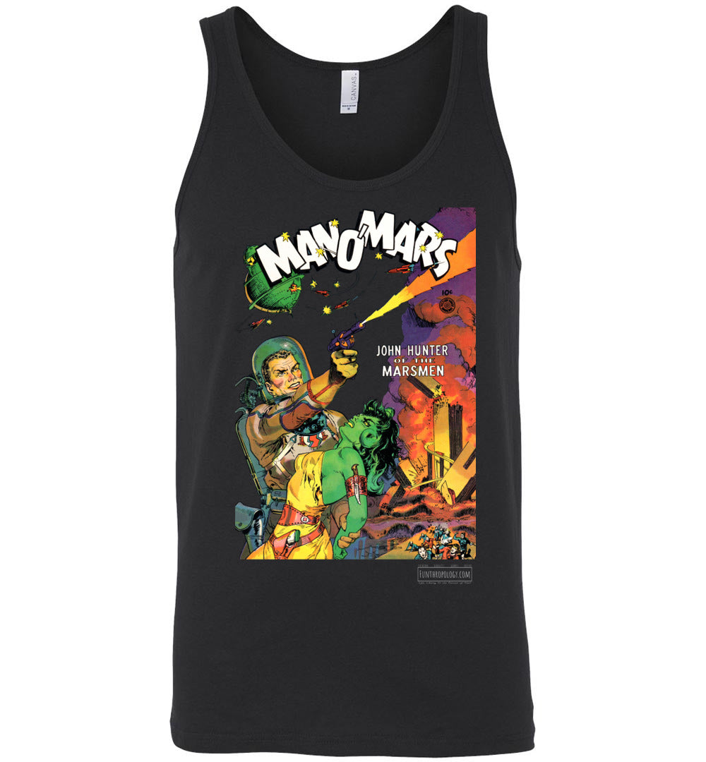 Man O'Mars No.1 Tank Top (Unisex, Dark Colors)