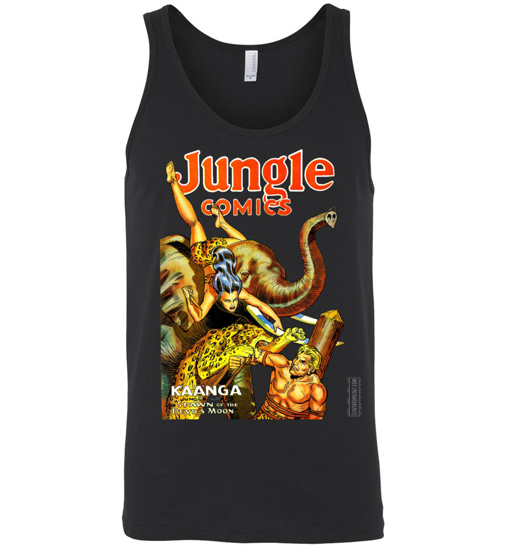 Jungle Comics No.145 Tank Top (Unisex, Dark Colors)