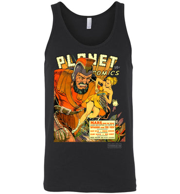 Planet Comics No.16 Tank Top (Unisex, Dark Colors)