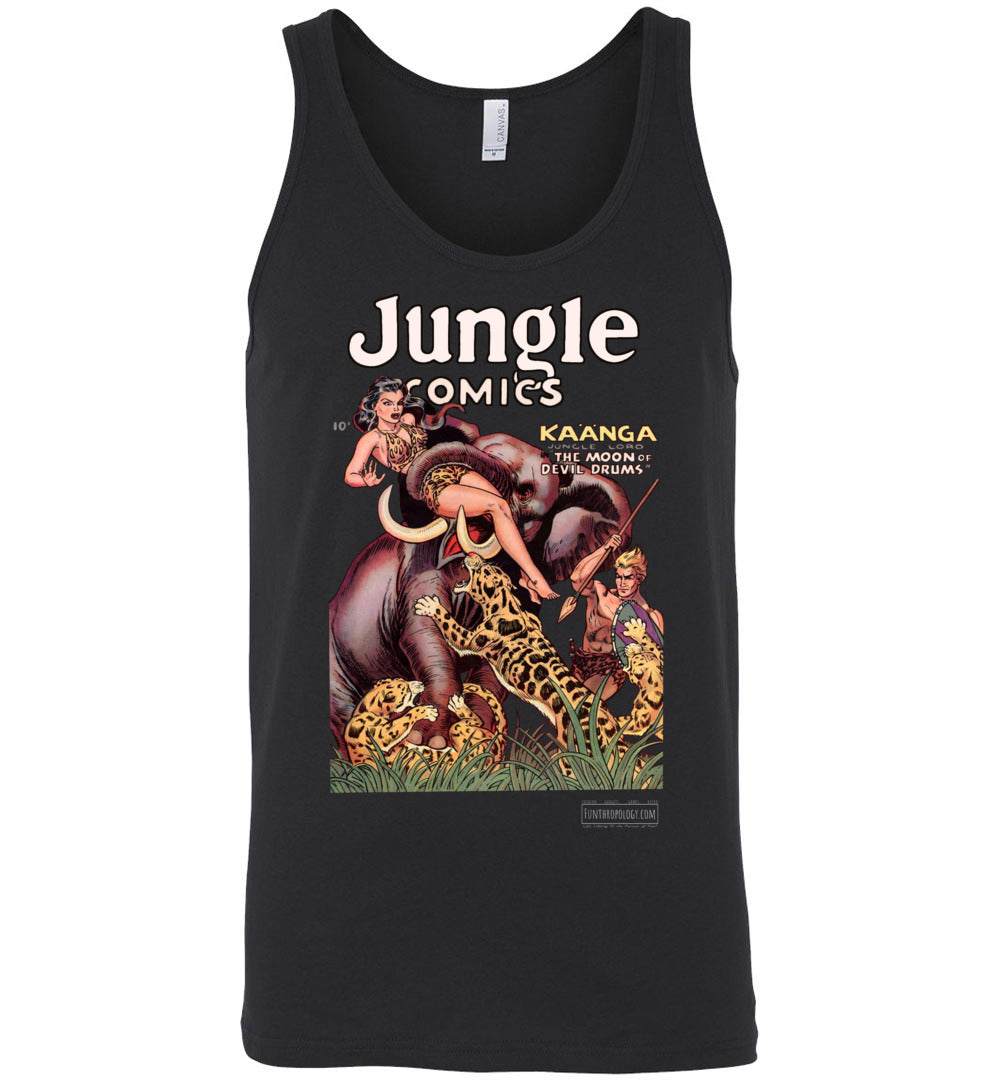 Jungle Comics No.143 Tank Top (Unisex, Dark Colors)