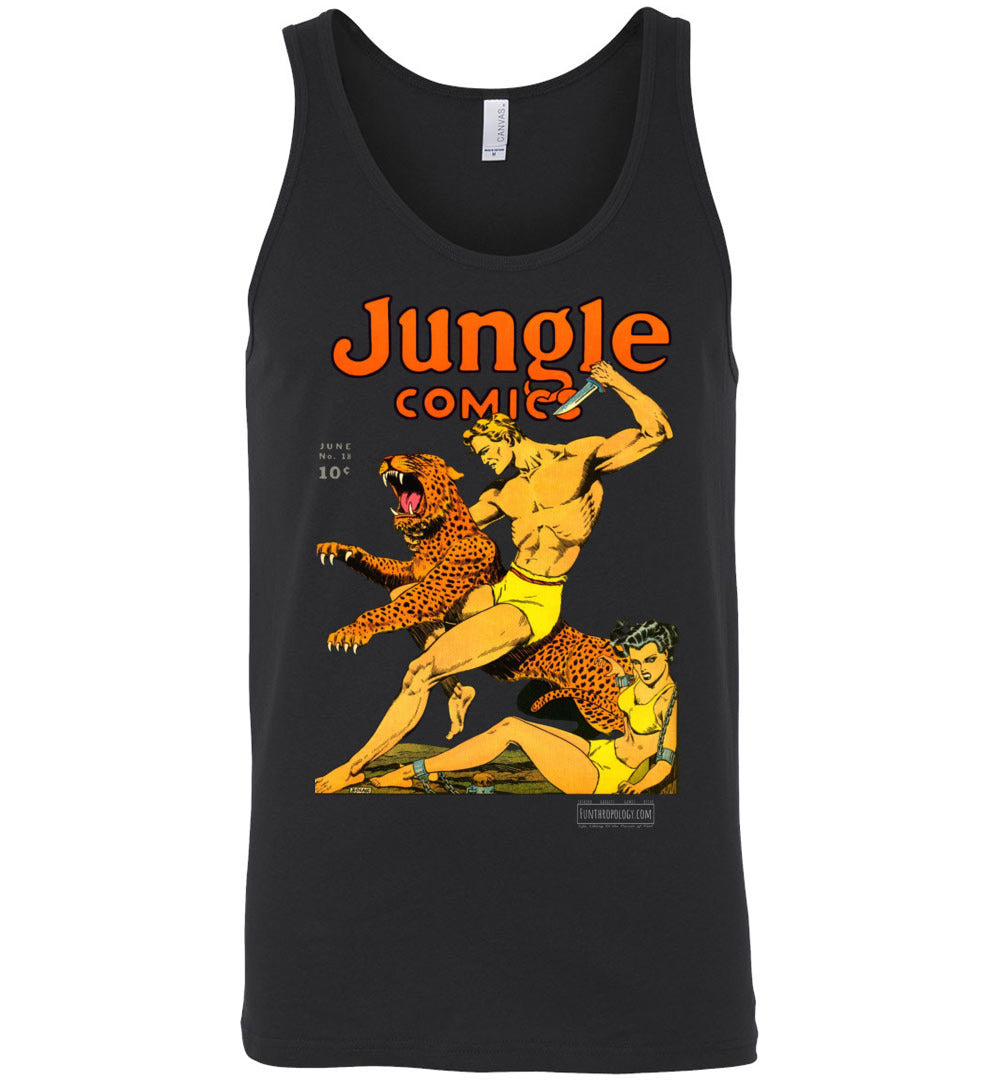 Jungle Comics No.18 Tank Top (Unisex, Dark Colors)