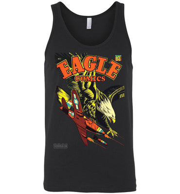 Eagle Comics No.1 Tank Top (Unisex, Dark Colors)