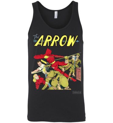 The Arrow No.3 Tank Top (Unisex, Dark Colors)