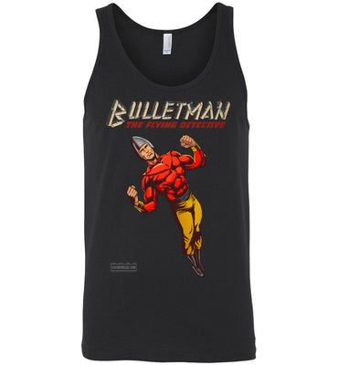 Bulletman Reimagined Tank Top (Unisex, Dark Colors)