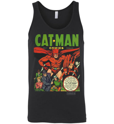Cat-Man No.7 Tank Top (Unisex, Dark Colors)