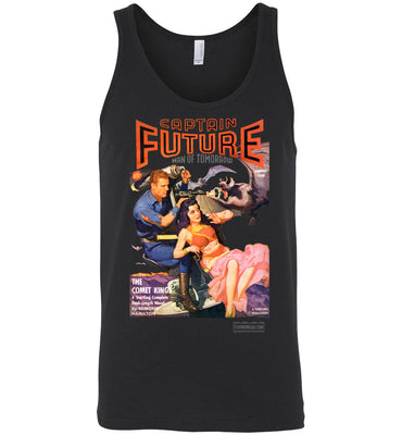 Captain Future No.11 Tank Top (Unisex, Dark Colors)