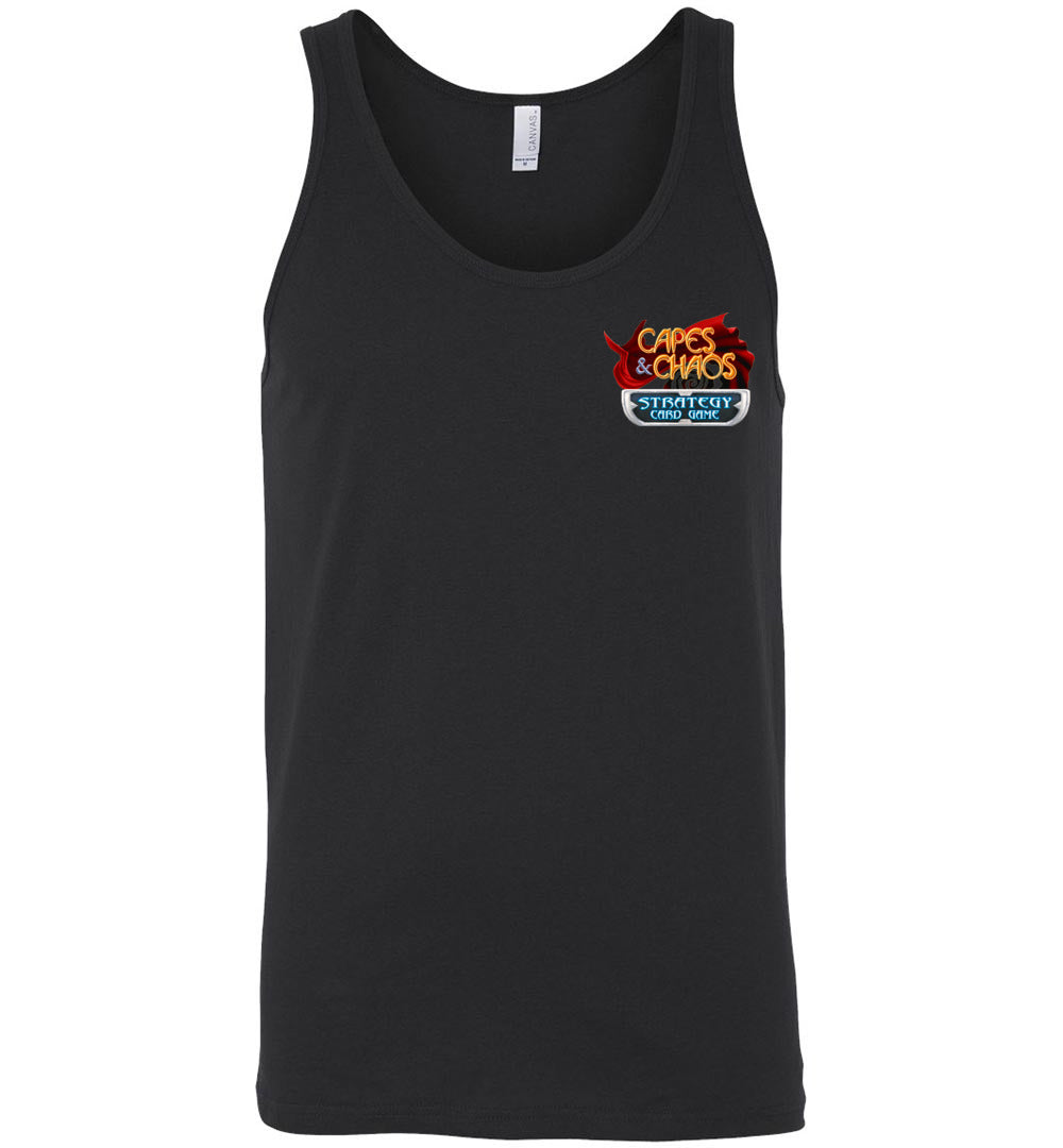 Capes & Chaos Ember Tank Top (Unisex)