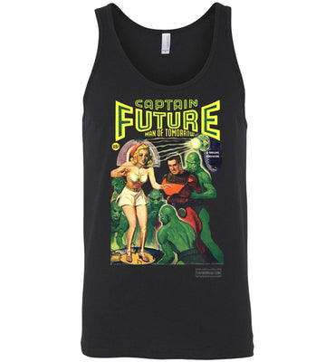 Captain Future No.12 Tank Top (Unisex, Dark Colors)