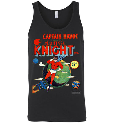 The Phantom Knight No.4 Tank Top (Unisex, Dark Colors)