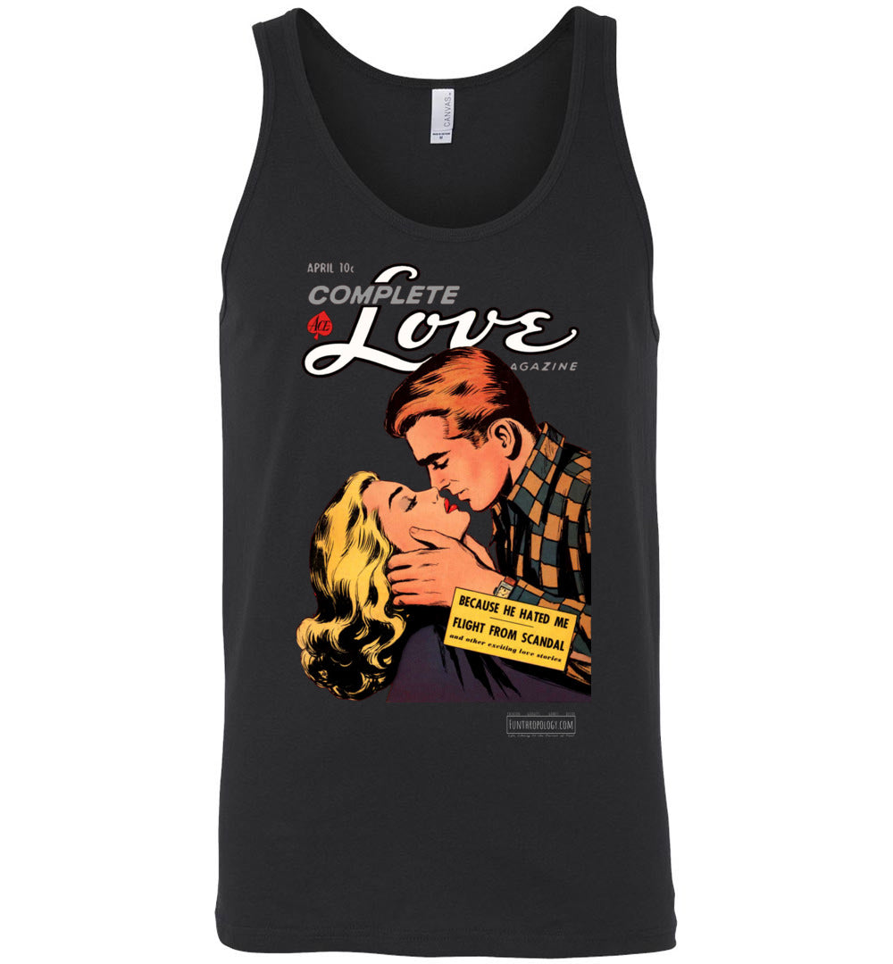 Complete Love No.27.1 Tank Top (Unisex, Dark Colors)