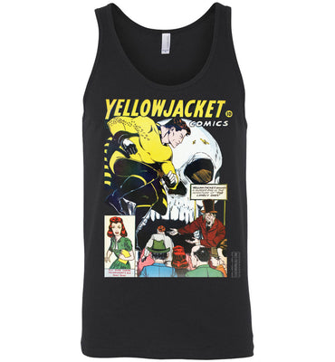 Yellowjacket No.7 Tank Top (Unisex, Dark Colors)