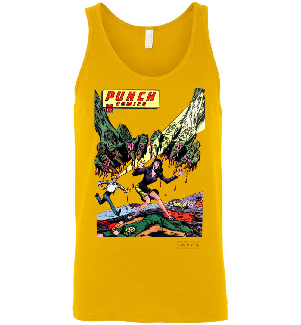 Punch Comics No.19 Tank Top (Unisex, Light Colors)