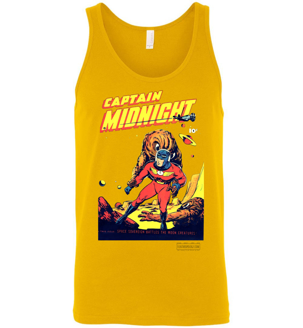 Captain Midnight No.50 Tank Top (Unisex, Light Colors)