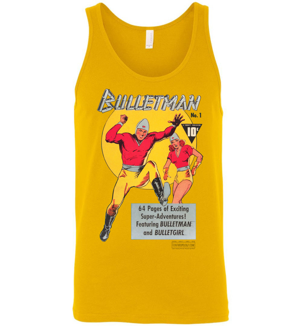 Bulletman No.1 Tank Top (Unisex, Light Colors)