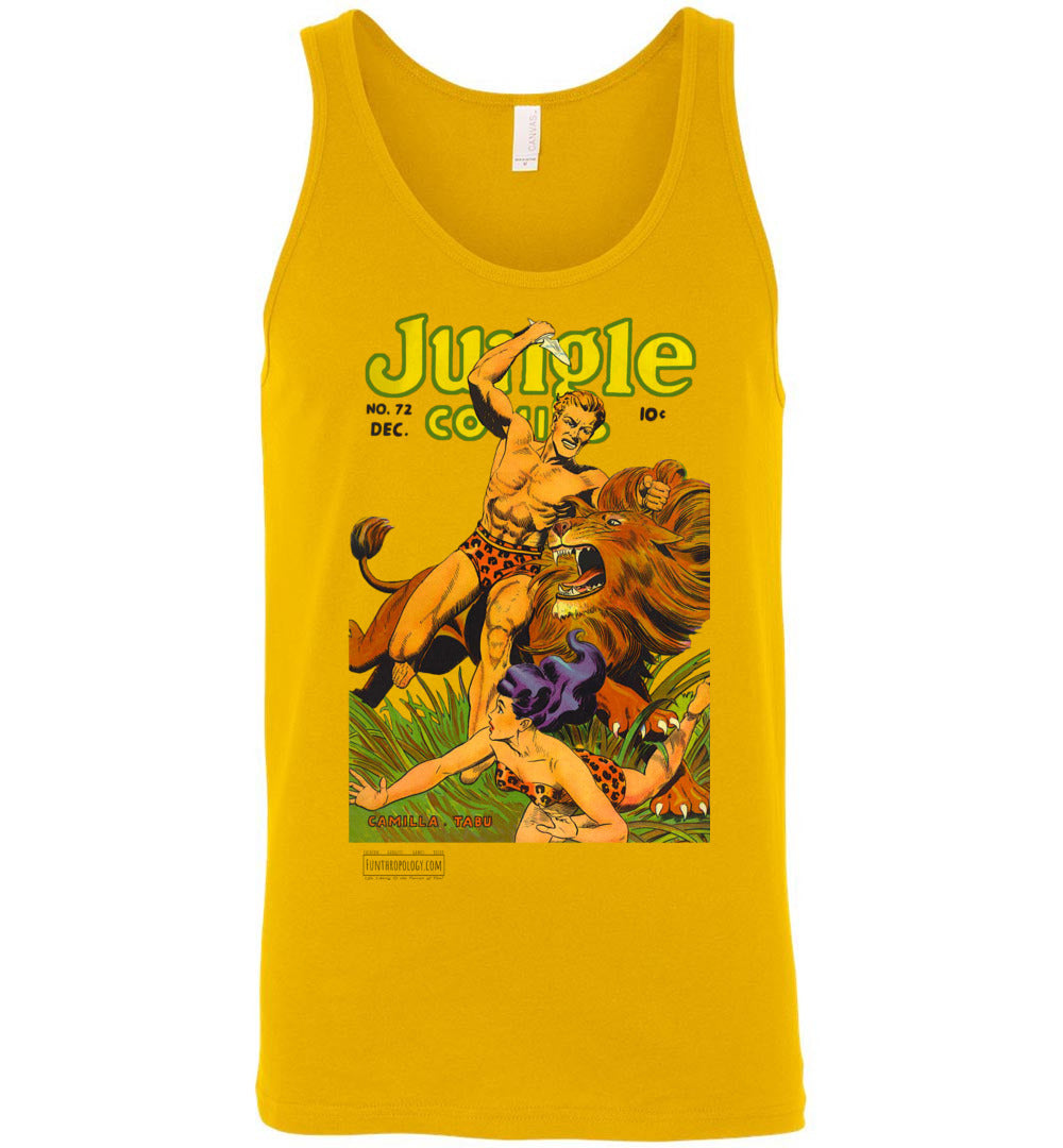 Jungle Comics No.72 Tank Top (Unisex, Light Colors)
