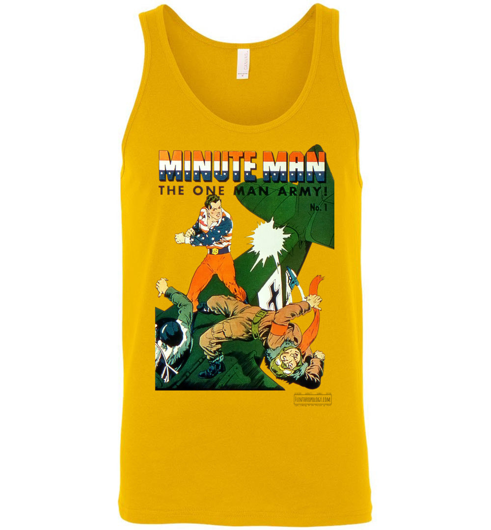 Minute Man No.1 Tank Top (Unisex, Light Colors)