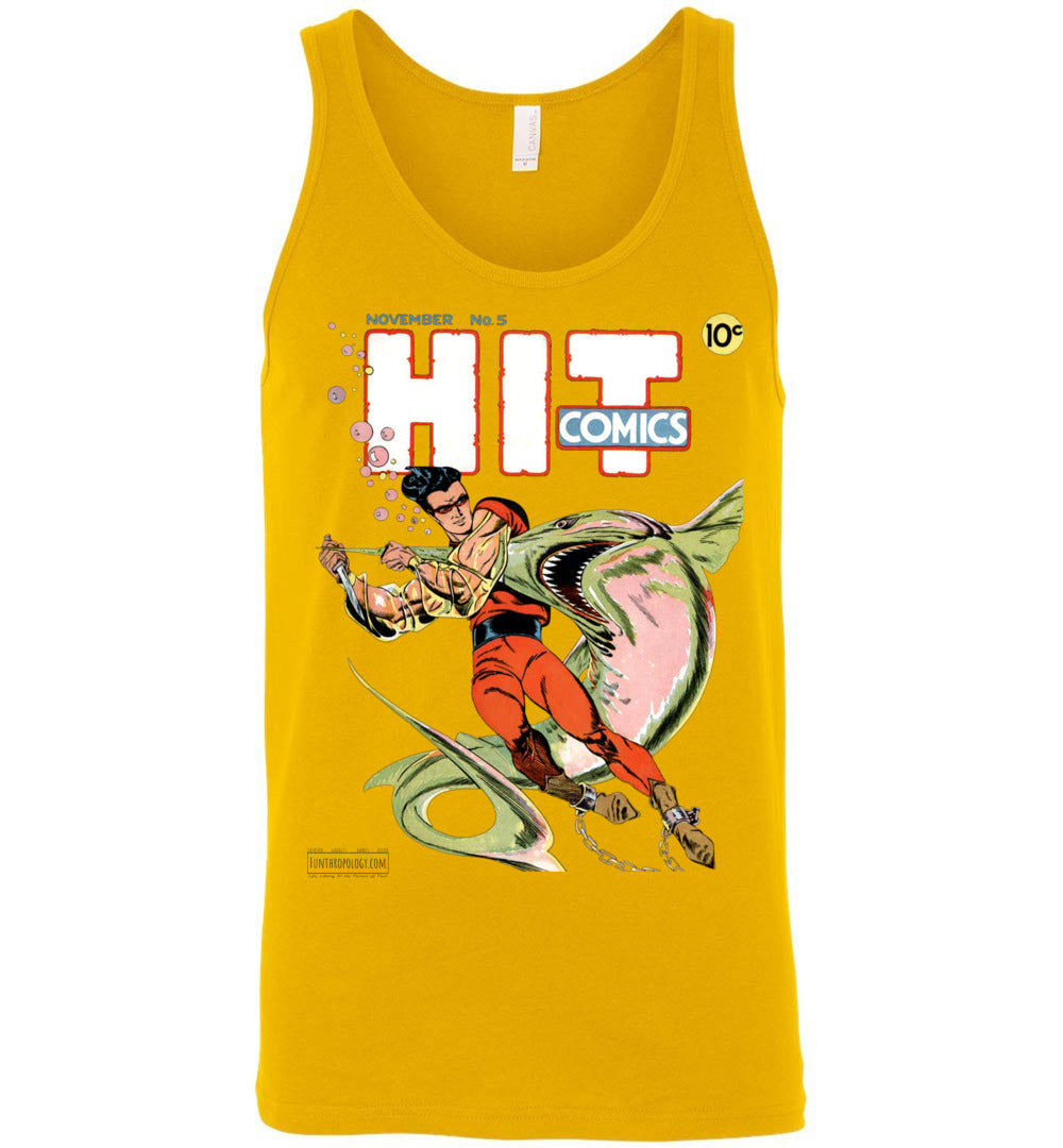 Hit Comics No.5 Tank Top (Unisex, Light Colors)