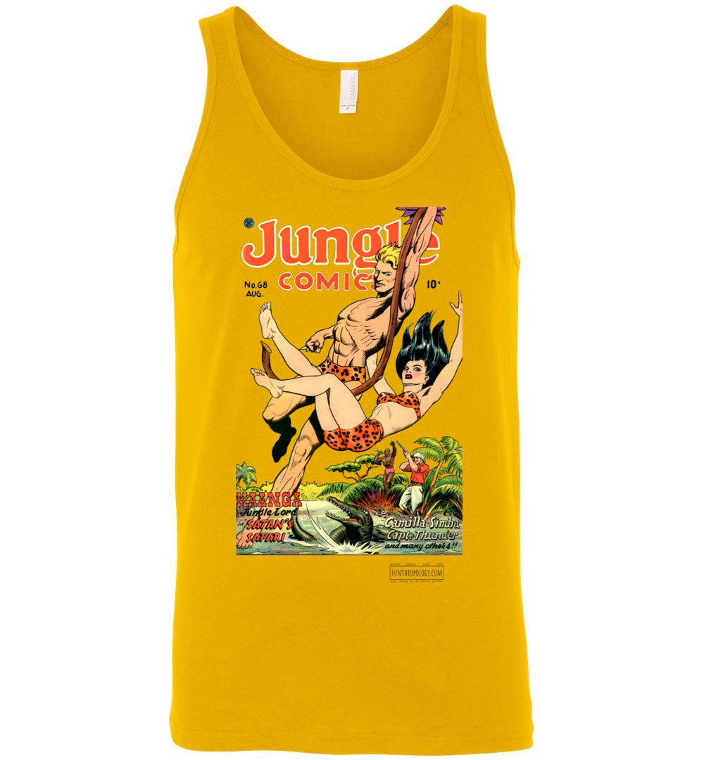 Jungle Comics No.68 Tank Top (Unisex, Light Colors)