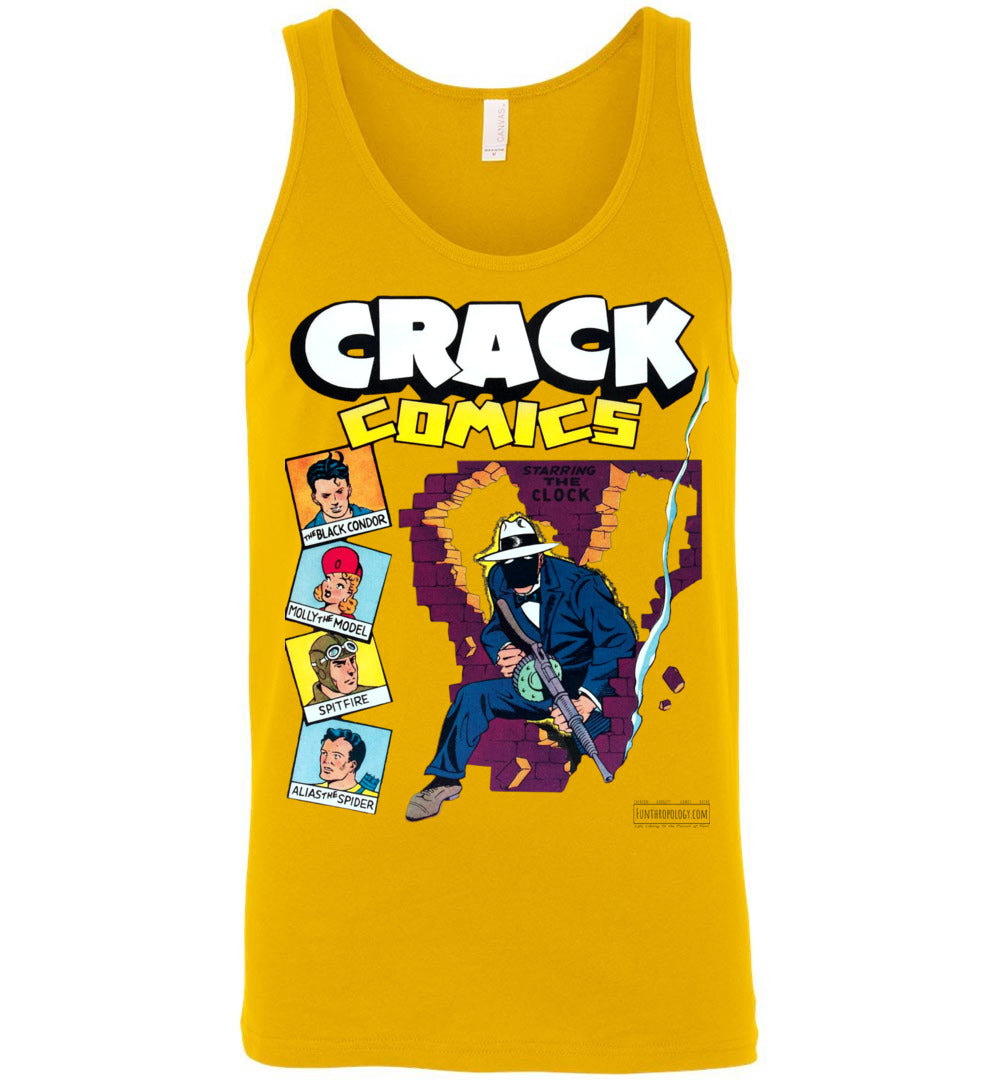 Crack Comics No.19 Tank Top (Unisex, Light Colors)