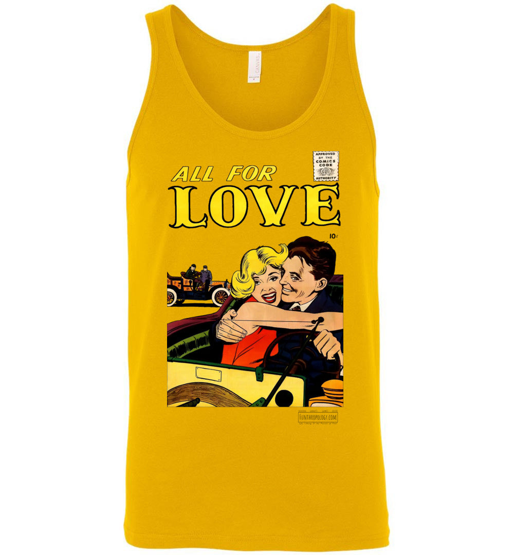 All For Love No.3.4 Tank Top (Unisex, Light Colors)