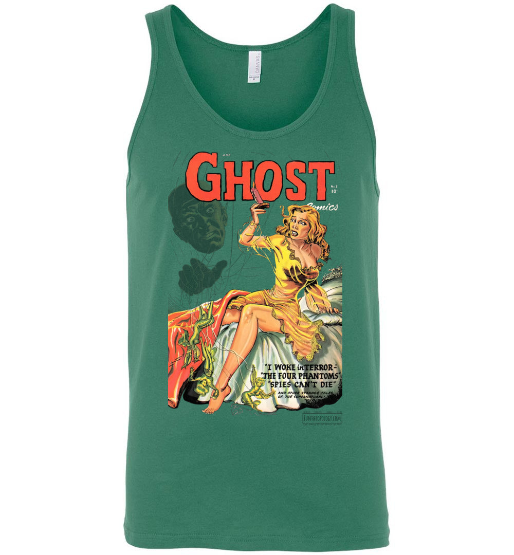 Ghost Comics No.2 Tank Top (Unisex, Light Colors)