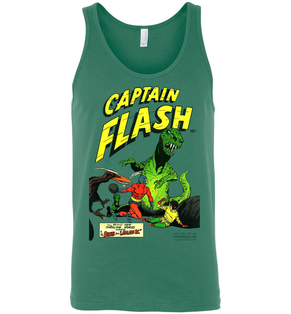 Captain Flash No.3 Tank Top (Unisex, Light Colors)