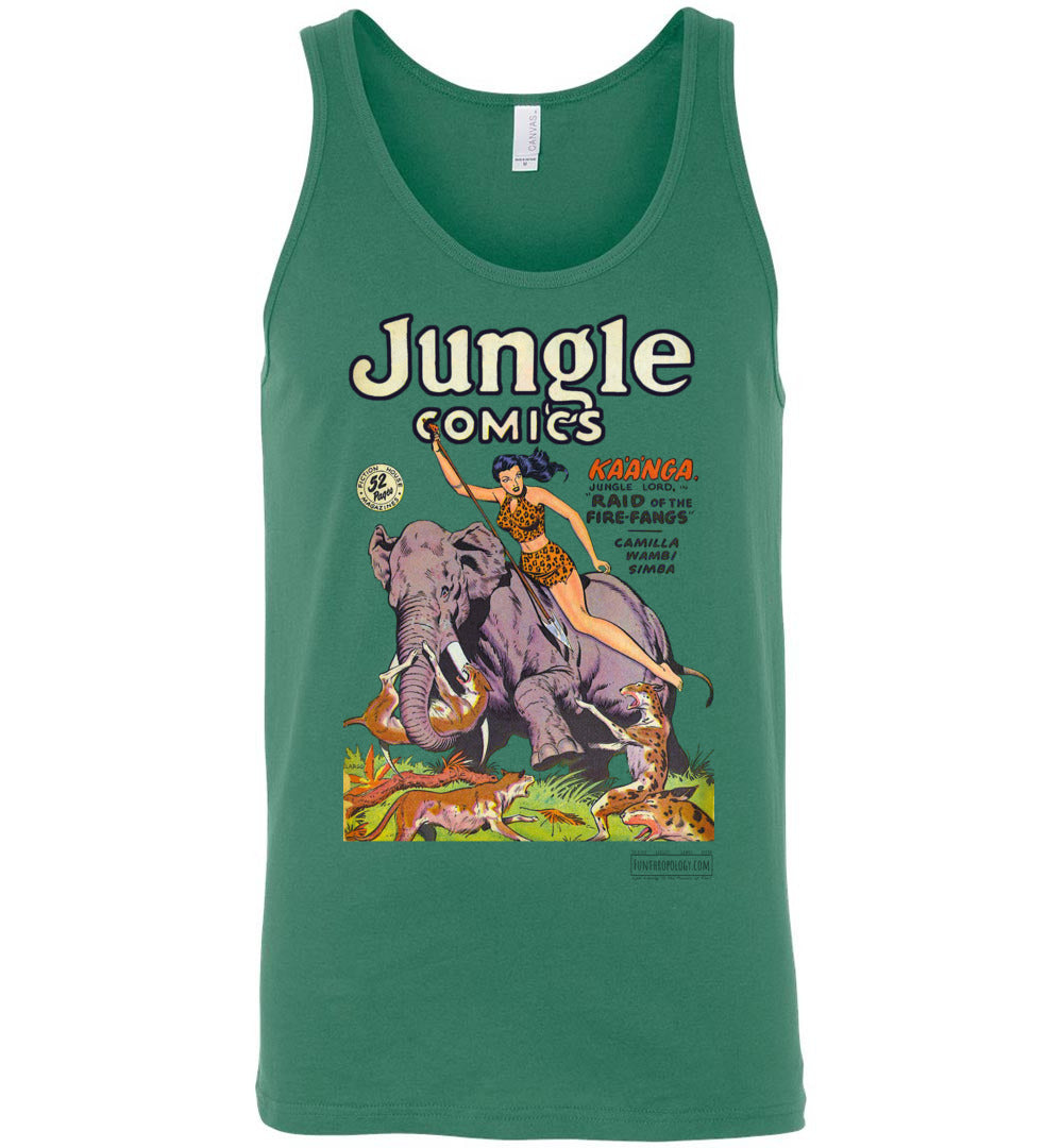 Jungle Comics No.110 Tank Top (Unisex, Light Colors)